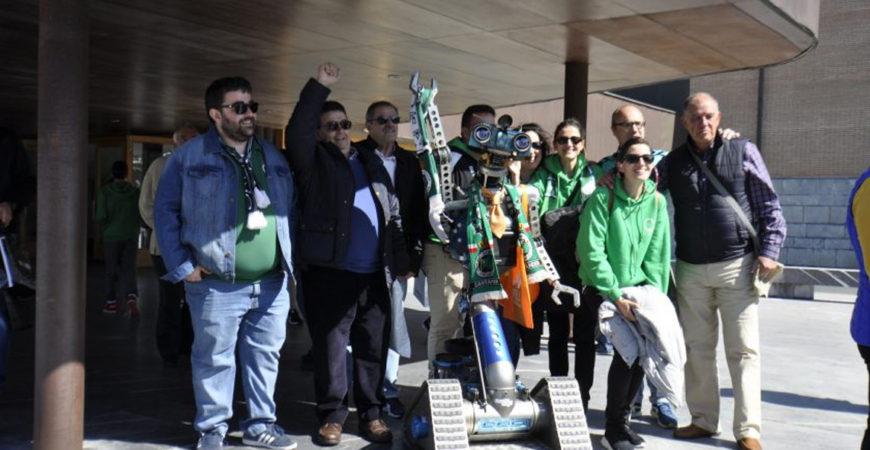 inmobiliaria de lujo en santander animando al racing de santander
